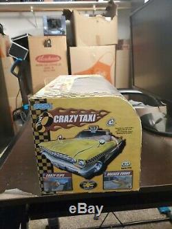 Sega Crazy Taxi Radio Remote Control R/C Car Impala Dreamcast 27171 2003