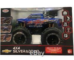 Silverado Truck 4x4 Radio RC Remote Control Cars Boys Toys Gift Scale16