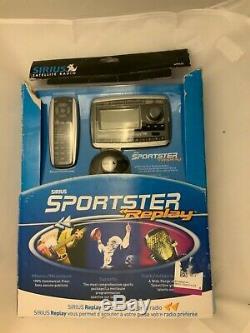 Sirius Sportster Replay SP-R2 Satellite Radio withCar Kit SP-C2C + Remote