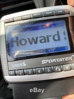 Sirius XM Sportster SP-R2 LIFETIME SUBSCRIPTION Remote Dock Car Mount