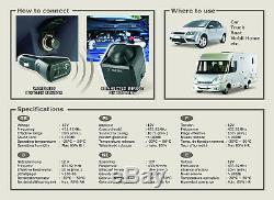 Smartwares CAR1 Universal Car Alarm 100 Db Plug-In Sensor Remote Control
