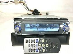 Sony Xplod CDX-M9900 Mp3 Car Radio Cd Player With RM-X144 Remote Control