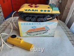 Soviet Ussr Toy Car All Terrain Vehicle Remote Control Radio Original Box