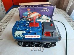 Soviet Ussr Toy Car All Terrain Vehicle Remote Control Radio Original Box 70s
