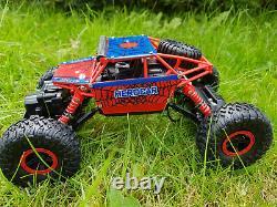 Spiderman Radio Remote Control Car 2.4ghz Off Road 4wd Rock Crawler