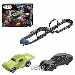 Star Wars RC IR Radio Remote Control Slot Car Race 6+ Darth Vader Yoda Carrera