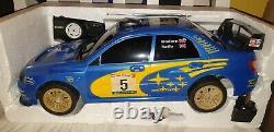 Subaru Impreza Wrc Radio Remote Control Car 20mph Speed 1/8 Scale