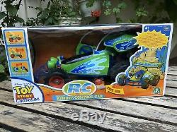 THINKWAY TOYS RC Wireless Remote Control Car Toy Story Signature Collection RARE