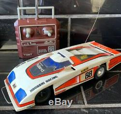 TOMY RADIO RACER 88 VINTAGE REMOTE CONTROL CAR in Working Condition