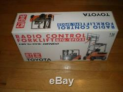 TOYOTA 1/20 scale Forklift Geneo 8FG/8FD25 Radio Remote Control mini car truck
