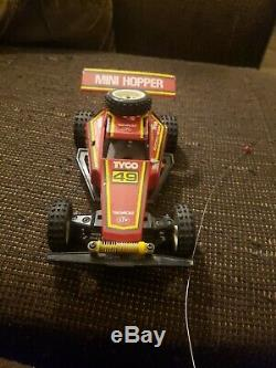 TYCO MINI HOPPER RC RADIO CONTROL CAR BUGGY ELECTRIC 49 with remote