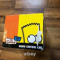The Simpsons R/C Remote Radio control Car 2005 Bart Homer Marge Lisa Brand New