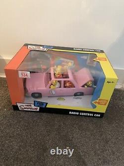 The Simpsons Rc Remote / Radio Control Car Bart Homer Marge Lisa Grandpa 2005