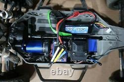 Traxxas Slash Mike Jenkins Model RC Radio Remote Control Car 4x4 with Control E27