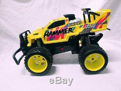 Tyco Hammer Bandit Off Road Monster Truck 9.6 Volt Remote Radio Control Rc Car