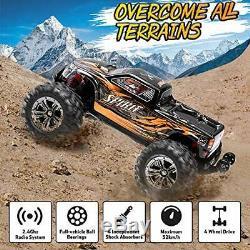 VATOS Brushless RC Car Remote Control High Speed 52km/h Monster Orange
