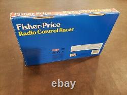 VTG 1996 Fisher Price Radio Control Racer Remote Control Car NOS NEW RARE