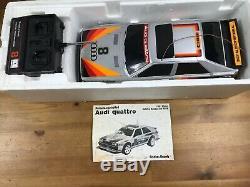 Vintage 1985 Vintage Radio Shack Audi Quattro RC Car Remote Control 60-4058