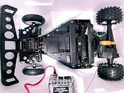 Vintage 1989 Radio Shack Red Arrow 7.2 Volt Remote Radio Control Rc Car Buggy