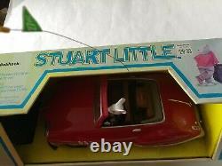 Vintage 1999 STUART LITTLE Radio Shack Remote Control Roadster Car NEW IN BOX