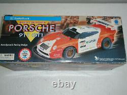 Vintage 90's Radio Shack PORSCHE 911 GT1 Remote Control Car Tested and Working
