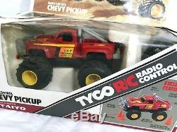 Vintage RC Radio Remote Control Tyco 1980's Chevy Pickup Car Taiyo Toy
