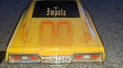 Vintage Radio Shack 1967 Impala RC Car Remote Control Low Rider Hydraulics 1/10