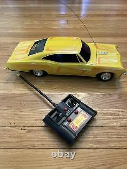 Vintage Radio Shack 1967 Impala RC Car Remote Control Low Rider With Controller