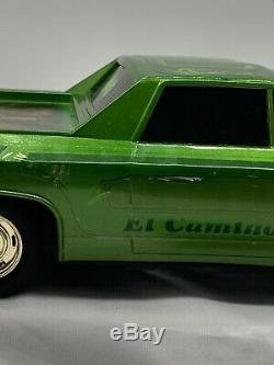 Vintage Radio Shack 1969 El Camino Remote Control Car In Box Hydraulics Lowrider