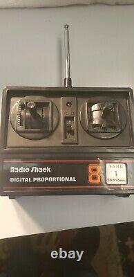 Vintage Radio Shack Audi Quattro Remote Control Car in Box