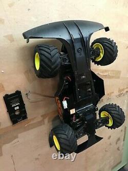 Vintage Radio Shack Desert Viper Radio Remote Control Car 4x4 AWD 4WD twin motor