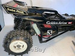 Vintage Radio Shack Golden Arrow 3 Remote Control Buggy Car