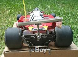 Vintage Tamiya Ferrari 312T3 1/10 Radio Control Car w remote