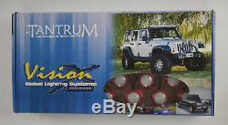 Vision X Red Under Car Tantrum LED Strobe Light Kit withWireless Remote 4005389