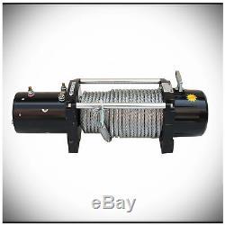 WIN-2X 12500lbs DC 12V Electric MUTE Auto Brake IP67 Waterproof Winch Kit