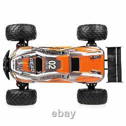 Waterproof RC Racing Car 2.4GHz Wireless Remote Control Super Big Tire Orange