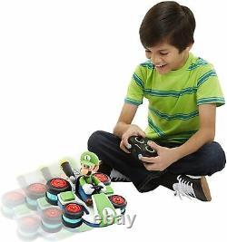 Wii Mario Kart Mini Luigi Anti Gravity RC IR Radio Remote Control Car Race Play