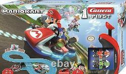 Wii Mario Kart RC IR Radio Remote Control Slot Car Race Track Ages 3+ Carrera