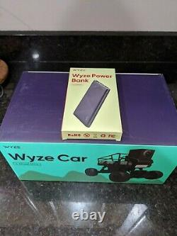 Wyze Car, Remote Control Wireless Vehicle for use with Wyze Cam V2 with batt pack