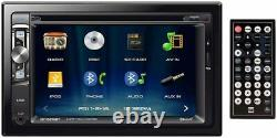 XDVD276BT Double DIN Bluetooth Radio In-Dash Car Stereo CD-DVD Receiver