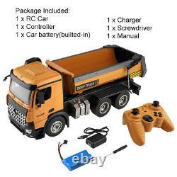 XK 14600 RC Car 114 8CH Radio Remote Control Crawler Dirt Dump Car Vehicle